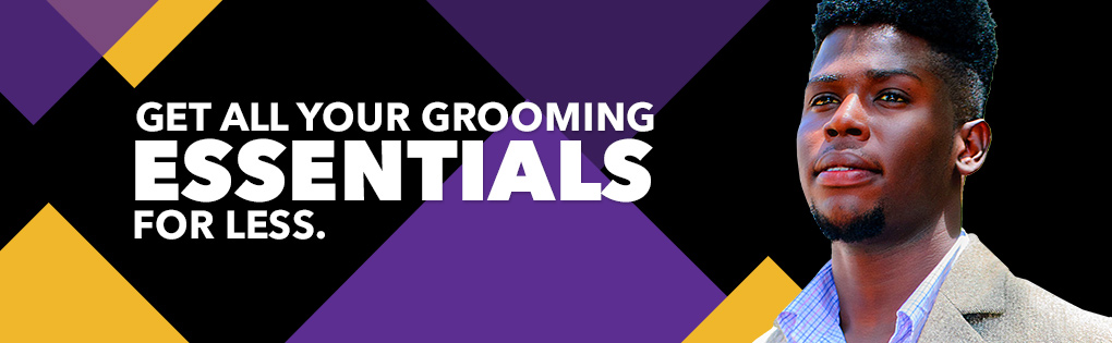 GET ALL YOUR GROOMING ESSENTIALS FOR LESS