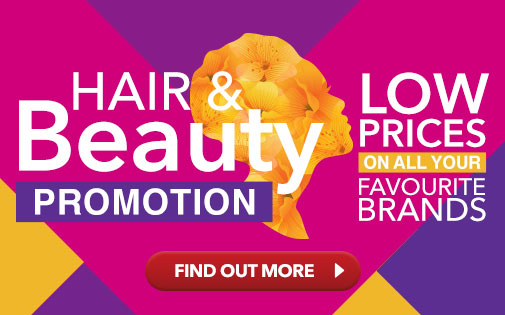 HAIR & BEAUTY PROMOTION