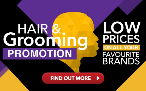 HAIR & GROOMING PROMOTION