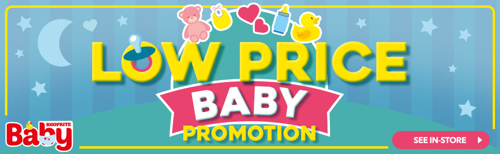 LOW PRICE BABY PROMOTION