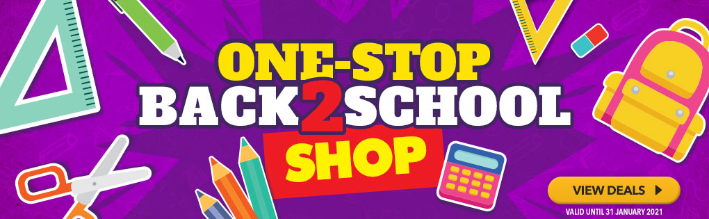 ONE-STOP BACK 2 SCHOOL SHOP