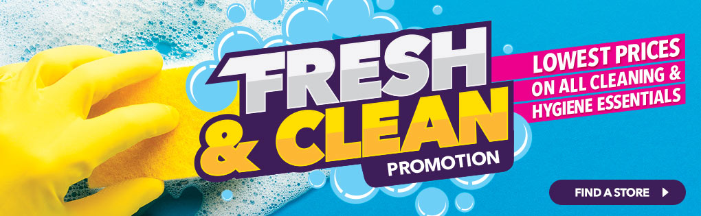 FRESH & CLEAN PROMOTION