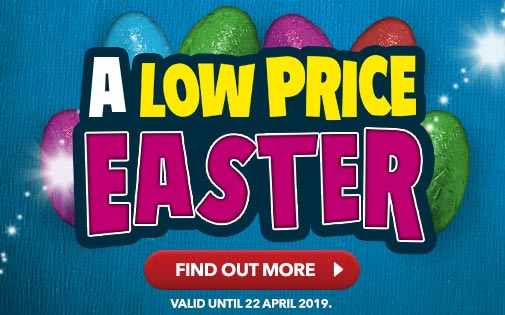 A LOW PRICE EASTER